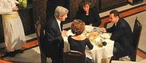 a cena con Hitler